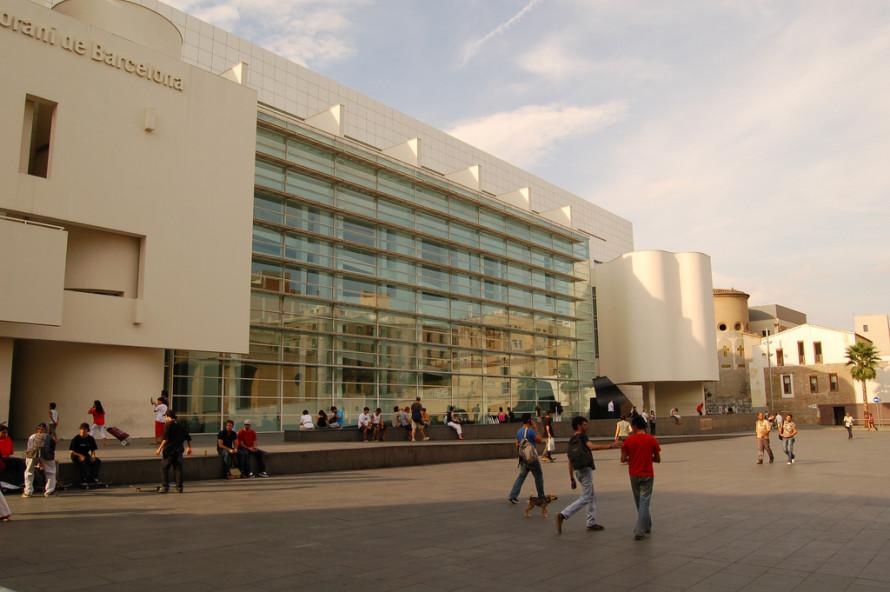 Музей современного искусства Барселоны